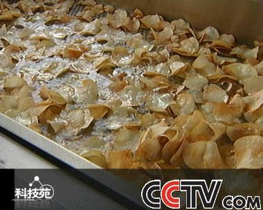 薯片的制作过程