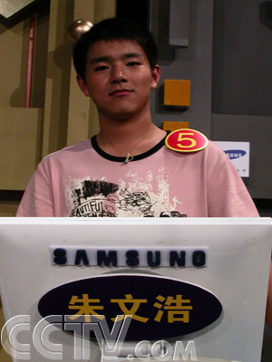 沈阳电视台新闻频道_CCTV.com-朱文浩:5月26日沈阳站周冠军