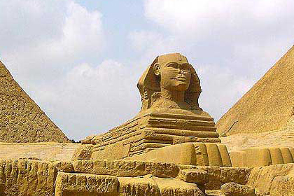 金字塔结构的精确达到了惊人的程度