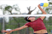 Chinese beach volleyball players to play with ease at Olympics