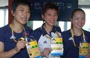 HK table tennis players arrive in Beijing