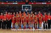 China beats Spain 67-64 in women´s basketball preliminary