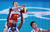 China beat Venezuela 3-0 in women´s volleyball event