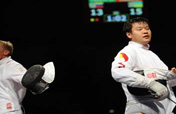 China´s fencers fail to enter top 8 in Olympic men´s epee individual