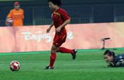 Chinese striker Xu Yuan scores her 2nd goal of Olympics