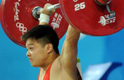 Chinese Long Qingquan wins men´s 56kg class weightlifting gold