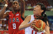 Chinese women´s basketball team loses to US 108-63