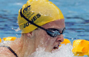 Australia´s Leisel Jones wins women´s 100m breaststroke Olympic gold