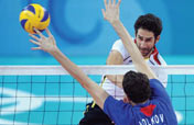 Russia beats Germany 3-2 in men´s volleyball group match