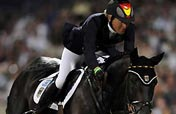 Germany wins eventing team jump gold in Olympics