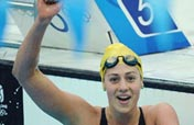 Australian Rice wins women´s 200m individual medley with world record