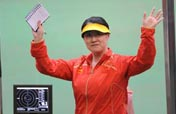 Chinese Chen sets Olympic record to win women´s 25-meter pistol gold