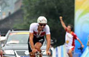 Swiss Cancellara wins men´s cycling time trial gold