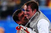 Germany´s Kleibrink wins men´s foil gold