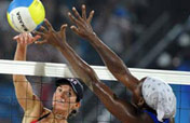 U.S. beats Cuba in women´s beach volleyball preliminary