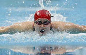Liu Zige of China wins Women´s 200m butterfly gold medal at Olympic Games with a new record