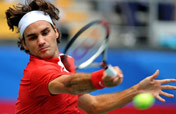 Federer loses to Blake in quarters at Beijing Olympics