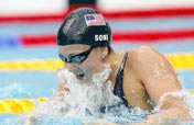 American Soni wins women´s 200m breaststroke gold with world record