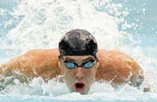 American Michael Phelps breaks Men´s 200m individual medley world record