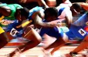 Men´s 100m round 1 heats