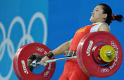 Chinese Cao Lei wins women´s 75kg weightlifting gold