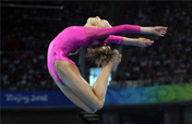 Liukin depicts beauty of gymnastics