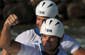 Slovakia twins Hochschorners retain canoeing slalom C2 Olympic title