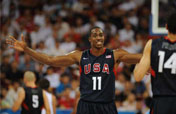 U.S. routs Spain 119-82 in men´s basketball preliminary