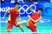 Cai/Fu fail to break jinx for China´s men´s doubles