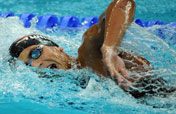Tunisian Mellouli wins men´s 1,500m freestyle Olympic gold