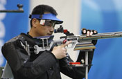 Chinese Qiu Jian wins men´s 50m rifle 3-positions Olympic gold