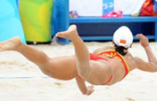 Tian/Wang continue making history for China´s beach volleyball