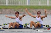 Britain wins lightweight men´s double sculls gold