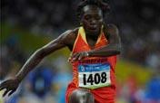 Cameroon´s Mbango Etone wins women´s triple jump gold
