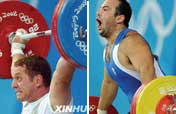 Weightlifting: the contest of strength and facial expressions