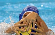 """Three hands"" in waterpolo"
