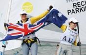Australia wins sailing women´s two person Dinghy