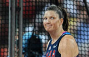 American Brown Trafton wins women´s discus throw gold
