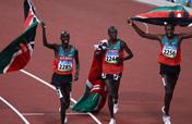 Kenya wins men´s 3000m steeplechase gold