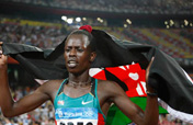 Kenya´s Pamela Jelimo grabs gold in Women´s 800 meters