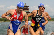 Women´s triathlon at the Beijing 2008 Olympic Games