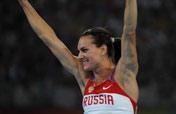 Isinbaeva sets new world record