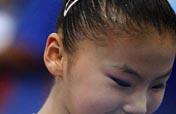 Gymnastics: a smile from the bottom of the heart