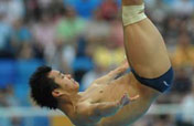 World champ He Chong continues dominance in springboard semifinal