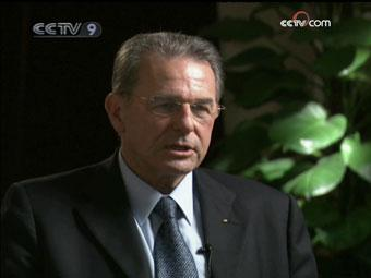 IOC President Jacques Rogge reflects on the Beijing Olympics.