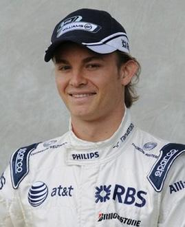 German Nico Rosberg offered Williams-Toyota the tantalising prospect of breaking its long Grand Prix win-drought with the fastest times in Friday's practice sessions in Melbourne.(AFP/Greg Wood)
