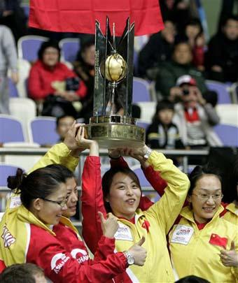 China became the first Asian team to win a curling world championship. They beat Sweden 8-6 in South Korea on Sunday