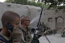 US army´s Bravo company digs in in Afghanistan