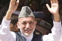 Karzai leads Afghan presidential race
