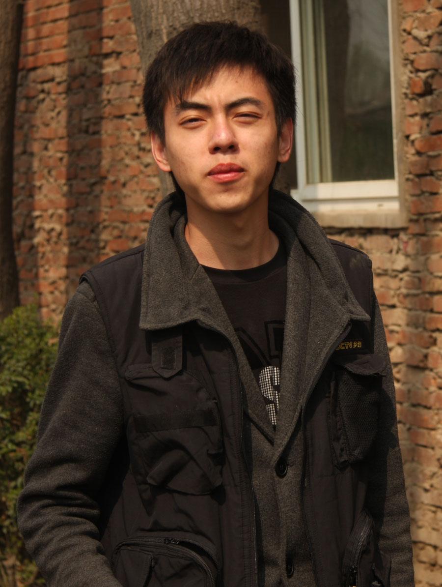 王超/2009年3月26日《肥就肥吧》痛苦的表情